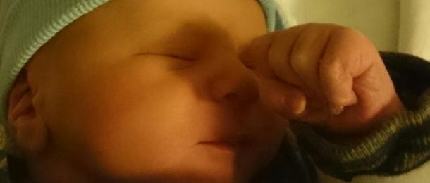 Nina is bevallen van haar zoontje Mason!
