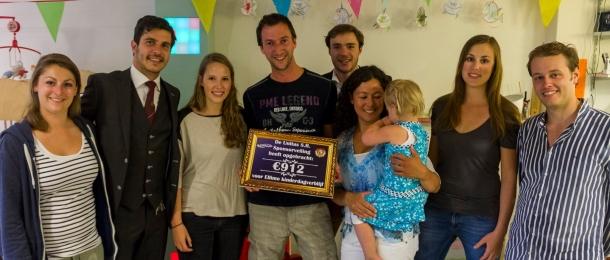 Studentenvereniging Unitas sponsort Ellimo!